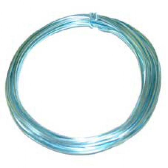 Aluminium Wire Turquoise 2mm - AW006