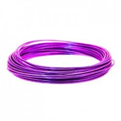 Aluminium Wire Purple 2mm - AW010