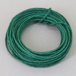 Green Paper covered Wire 2mm x 10m