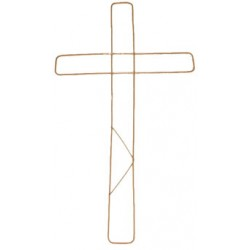 "Wire Cross 18"" Pack of 20 - WIR002"