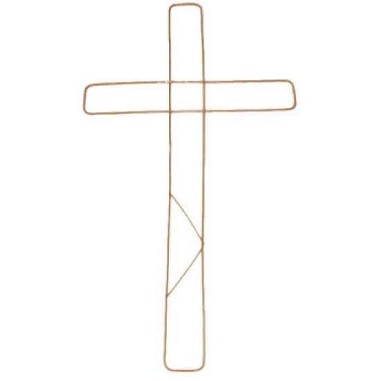 """Wire Cross 18"""" Pack of 20 - WIR002"""