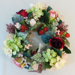 Briar Autumn Harvest Large Candle Ring or Wreath 30cm - BRI001