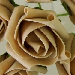 Colourfast Foam Rosebuds Bundle Medium Coffee 6 Pack - R330