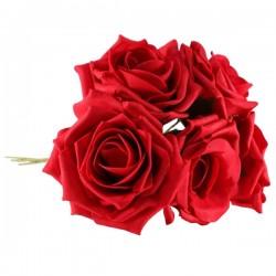 Foam Roses Bundle Red 5 Pack - R084