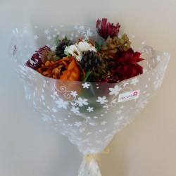 Amber Faux Flowers Gift Bouquet - ABV056
