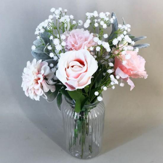 Arabella Letterbox Bouquet Artificial Flowers - LBF016 see Video in Description tab below