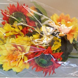 Artificial Flowers Gift Bouquet Autumn Sunshine - LBQ004