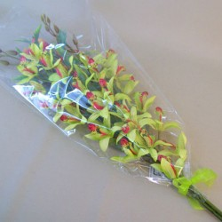 Artificial Flowers Gift Bouquet Tropical Orchids - LBQ003