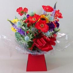 Silk Flowers Gift Bouquet - Autumn Splendour - ABV014