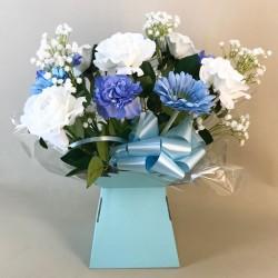 Silk Flowers Gift Bouquet - It's a Boy - BBV006