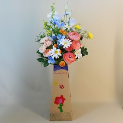 Beth & Lily Artificial Flowers Hand Tied Gift Bouquet - ABV039 Designed by Beth