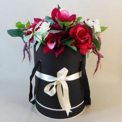 Juliet Hat Box Flowers - ABV054