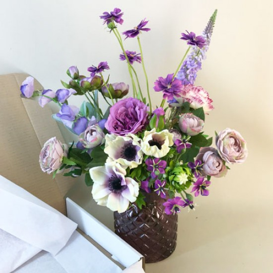 Lorelai Letterbox Bouquet Artificial Flowers - LBF006 see Video in Description tab below