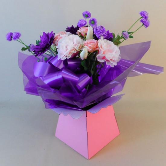 March Silk Flowers Bouquet - ABV004