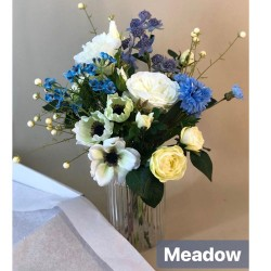 Meadow Letterbox Bouquet Artificial Flowers - LBF002 see Video in Description tab below