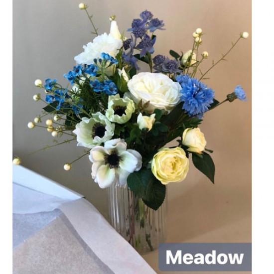Meadow Letterbox Bouquet Artificial Flowers - LBF002 see Video in Description tab below