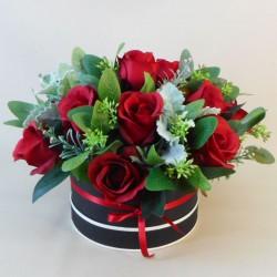 Pandora Hat Box Flowers - ABV051
