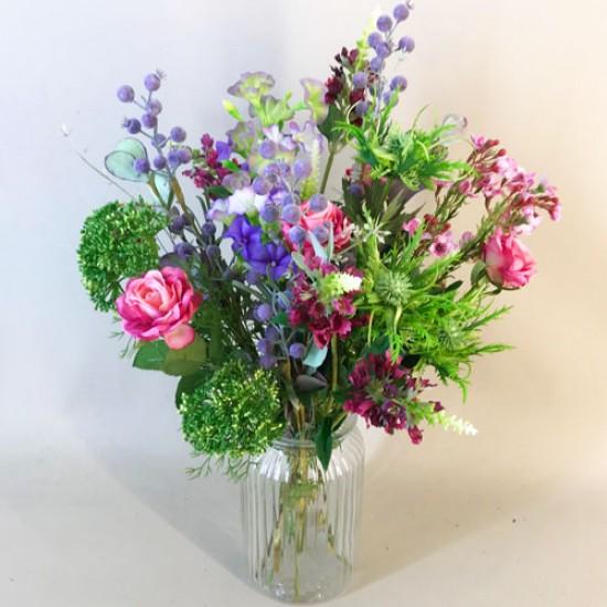 Phoebe Letterbox Bouquet Artificial Flowers - LBF013 see Video in Description tab below
