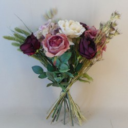 Pomegranate Noir Faux Flowers Gift Bouquet - ABV036 Created by Kirsty
