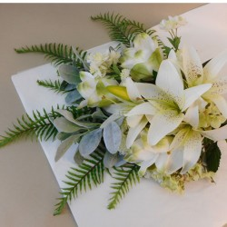 Serenity Artificial Flowers Gift Bouquet - ABV019 Created by Ashlee