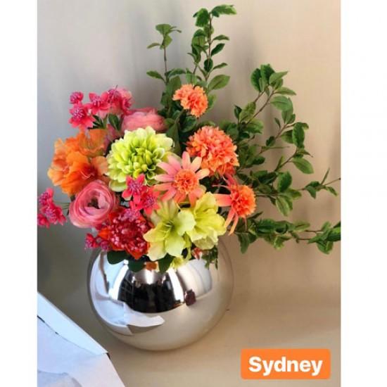 Sydney Letterbox Bouquet Artificial Flowers Silk Flowers