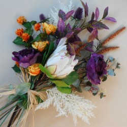 The King Faux Flowers Gift Bouquet - ABV020 Created by Kirsty