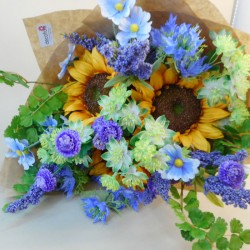 Ray of Sunshine Faux Flowers Gift Bouquet - ABV015 Created by Elizabeth