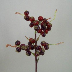 Artificial Berry Stem Red - B005 GG3