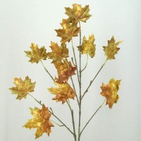 Yellow Artificial Leaves and Foliage