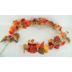 Artificial Maple Leaves Garland - MAP006