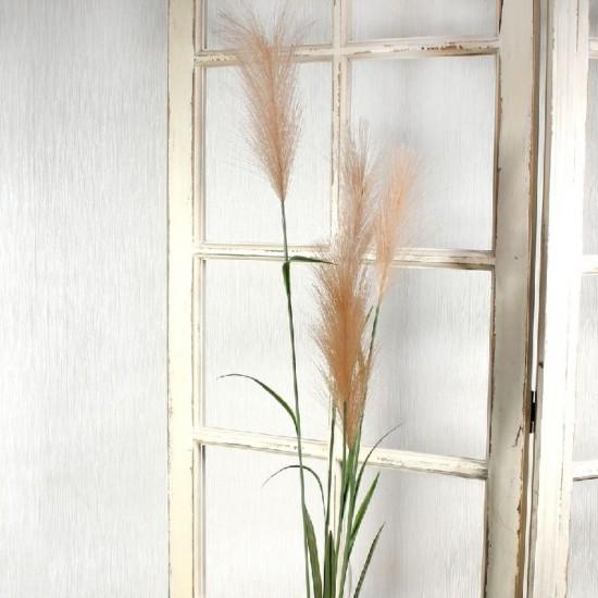 Artificial Pampas Grass Peach 145cm - PAM001