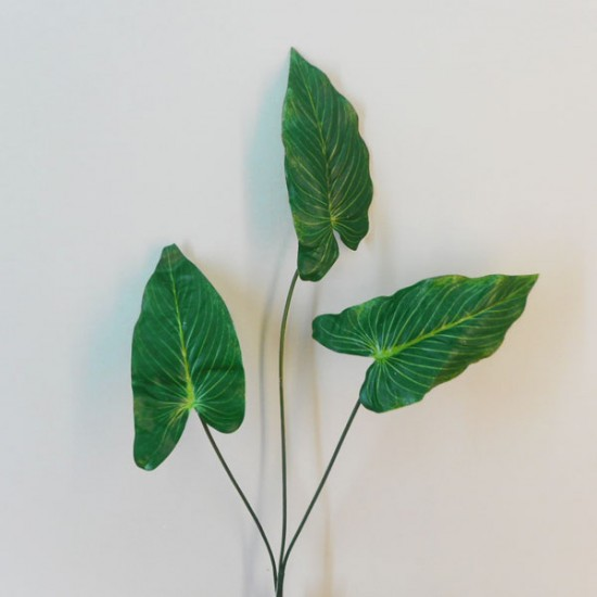 Artificial Anthurium Leaf Spray - ANT002 B2