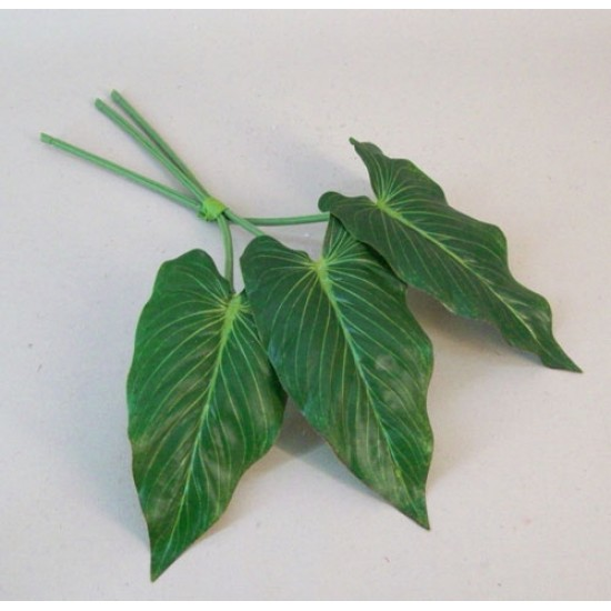Artificial Anthurium Leaves Pack of 3 Small - ANT001 GG2