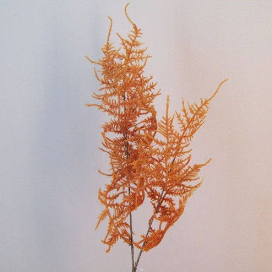 Artificial Asparagus Ferns Burnt Orange - ASP009 A2