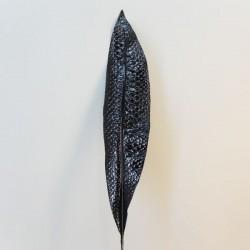 Artificial Aspidistra Leaf Black Snake Effect - ASP0004 A2