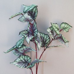 Artificial Begonia Leaves Stem - BEG001