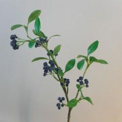 Artificial Blueberries Branch - BER013 A3