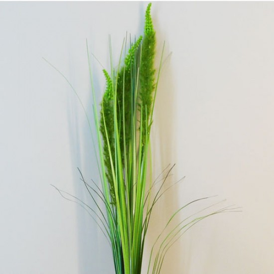 Artificial Cats Tails with Grasses Green - C016