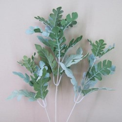 Artificial Cineraria Stem | Dusty Miller - CIN003 C2