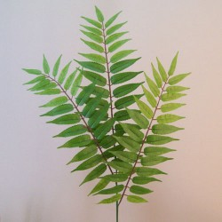 Artificial Crocodile Fern Leaves - FER015 E3