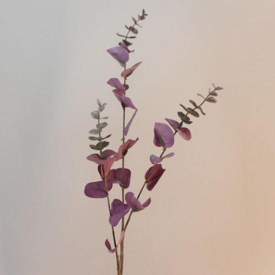 Artificial Eucalyptus Branch Aubergine Purple - EUC052 F3