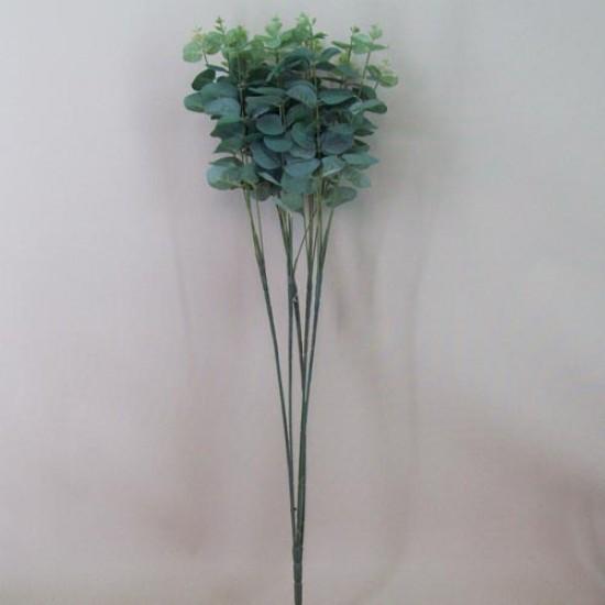 Silk Eucalyptus Plant Large Leaf Soft Green - EUC009 H4