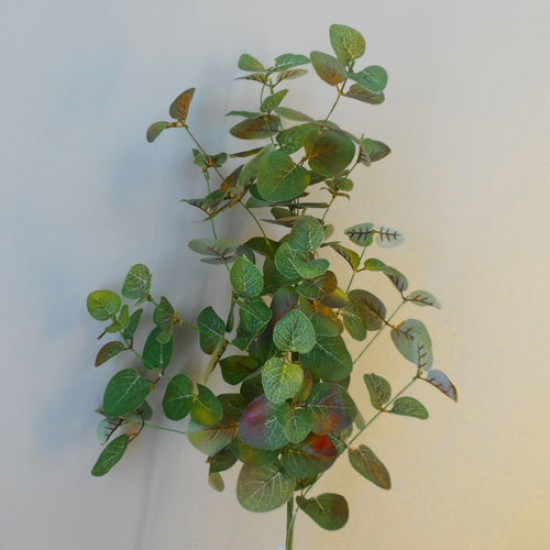 Artificial Eucalyptus Spray Russet and Green - EUC042 E3