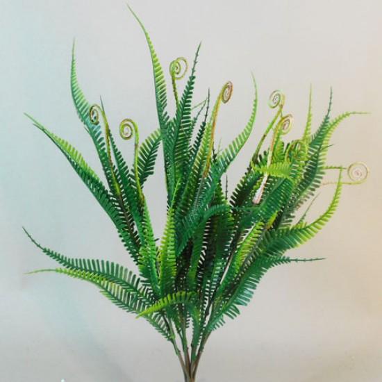 Artificial Fiddle Head Fern Plants - FER028 C2