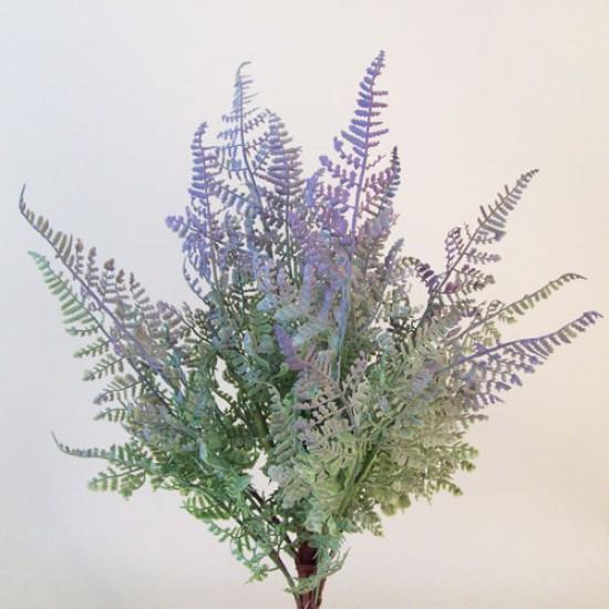 Artificial Forest Fern Plants Purple Green - FER017