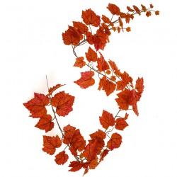 Artificial Grape Ivy Garland Red Orange - GRA008 EE1