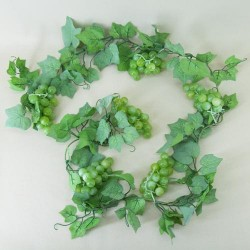Artificial Grapes Garland Green - GRA012