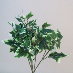 Artificial Ivy Bush Small Variegated - IVY038 G3