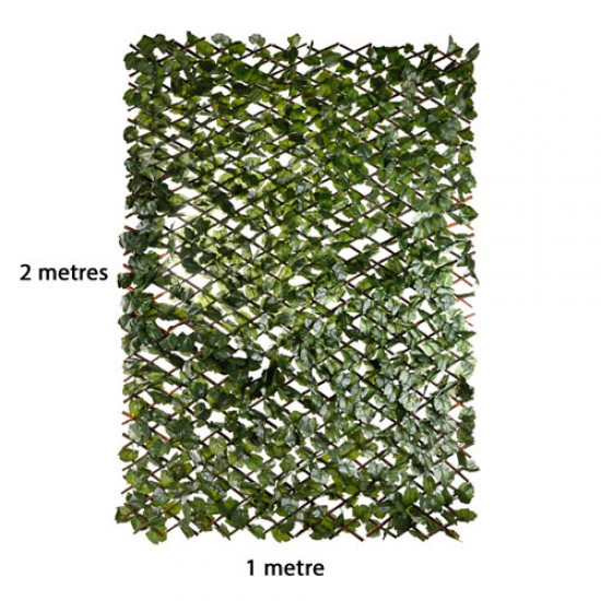 Artificial Ivy | Expandable Fence Panel - IVY053