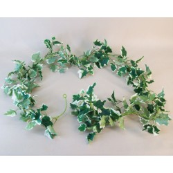 Artificial Ivy Garland Variegated Large Leaves 183cm - IVY034 G3